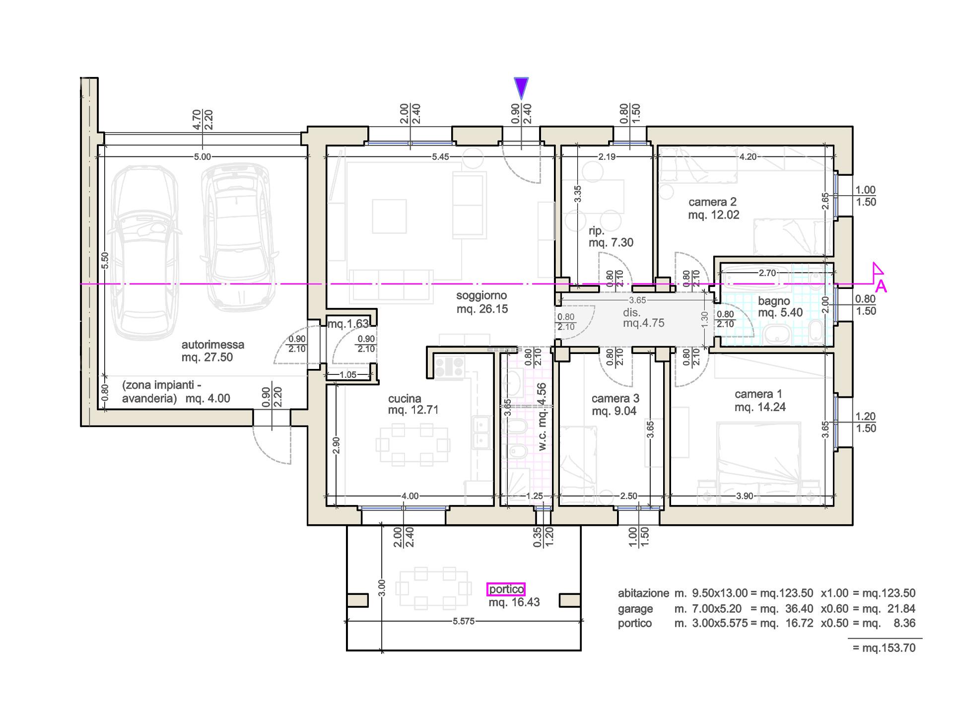 Villetta Singola Sviluppata Su Un Unico Piano Classe A Emissioni Zero S Antonio Immobiliare